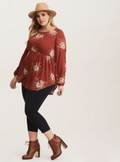 4 Plus-size country girl styles to steal! I created a mix of some of those trends to create a country girl style that would be perfect to integrate into your wardrobe seamlessly Pretty Outfits, Stylish Outfits, Beautiful Outfits, Fall Outfits, Night Outfits, Looks Plus Size, Plus Size Tops, Plus Size Style, Plus Size Fashion For Women