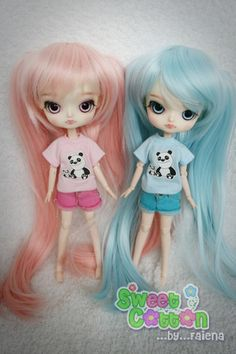 Custom : Dal (Pink and blue) by faie_na, via Flickr