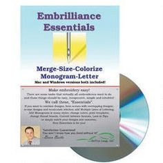 Embrilliance Essentials Embroidery Machine Software Embri... https://www.amazon.com/dp/B00DYZPGIY/ref=cm_sw_r_pi_dp_yoNHxbT40YGB2