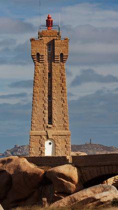Ploumanac'h Lighthouse, France- by Erick