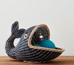 Whale Basket | Pottery Barn Kids