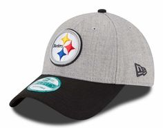 Pittsburgh Steelers New Era 9Forty The League Heather Adjustable Hat  Pittsburgh Steelers Hats 26bfb8967adc