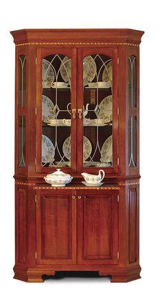 Cherry Corner Cabinet - Reader's Gallery - Fine Woodworking