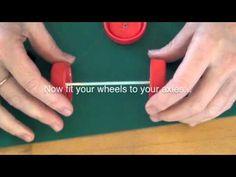 How to make a balloon powered Milk carton car.