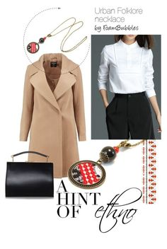 """""""Office with a hint of ethno"""" by foam-bubbles on Polyvore featuring Boohoo"""