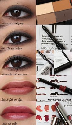 Mary Kay - the brown eyes look.