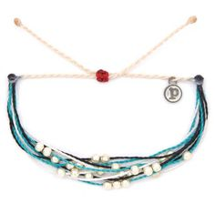 """$2 of this bracelet is donated to Whale and Dolphin Conservation. - 100% waterproof- wax-coated- iron-coated copper """"P"""" charm- adjustable..."""