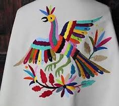 Resultado de imagen para bordado mexicano patrones Mexican Embroidery, Bird Embroidery, Mexican Textiles, Embroidery Neck Designs, Santa Fe Style, Drawing For Kids, Felt Flowers, Applique, Elsa