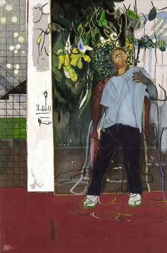 Artist Peter Doig Discusses His Show at Michael Werner Gallery Photos Peter Doig, Art And Illustration, Illustrations, Figure Painting, Painting & Drawing, Painting Abstract, Acrylic Paintings, Painting Inspiration, Art Inspo
