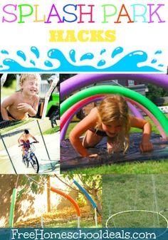 Make Your Own Splash Park