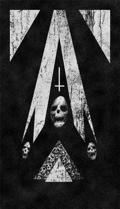 Gozer Visions #illustration #dark #black