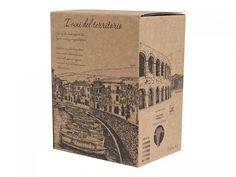 """#Scatolificio Udinese - #Bag in Box """"I vini del territorio"""" #handmade drawing"""
