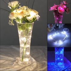 vase lighting ideas. Beautiful Vase 18m Indoor Submersible Wedding Party Battery Wire 20 Led Fairy String  Lights And Vase Lighting Ideas