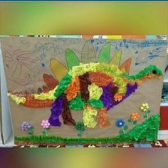 Dinosaur craft idea for kids | Crafts and Worksheets for Preschool,Toddler and Kindergarten