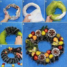 Do it yourself xmas wreath