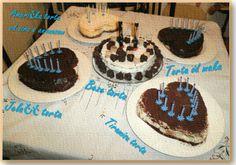 Beze torta sa kremom od kave i grilažom od badema  Jelačić torta  Torta od maka  Američka torta od sira s ananasom  Tiramisu torta: Probano, odlično. Tried, excellent.
