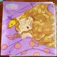 18 March 2016 : Coloring - The Girl with Stardust in Her Hair (The Time Chamber by Daria Song)