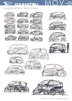 The #4 CDA Monthly Competition, in collaborating with DAIHATSU entries here! This sketch is one of proposals which presented by same student with previous post. Not only sketches, but also expressing your intentions and idea creation process for the design is very important in the competition. #sketch #automotive #automotivedesign #instadaily #carstagram #instacars #cars #cargram #drawing #carsketch #copic #daihatsu #car #productdesign #transportation