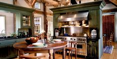 A farmhouse kitchen'