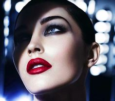 Megan Fox for Armani Cosmetics...those eyes...those lips!