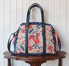 The Snowdrop Satchel in 2 sizes - PDF Sewing Pattern (release price 20% off)