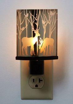 Led Night Lights Led Lamps Nordic Night Light Deer Night Lamp Led Strip Light Usb Table Lamp Pen Holder New Arrived #20190104
