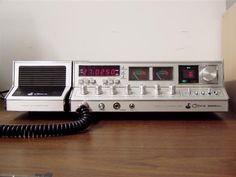 Cobra 2000 GTL (CB Base Radio) I still dream of owning one of these in mint condition with 2 speakers (preferably made in the Philippines).  I bought one in less than perfect condition to resell several years back, but that was the closest I ever got.