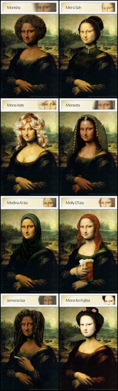 Monalisas_ [Destination Creation] (Gioconda / Mona Lisa)