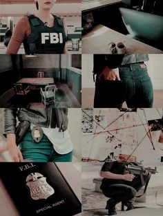 aesthetic - inspiration character - fbi woman agent