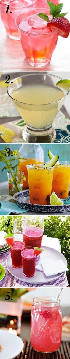 5 summer coctails recipes - wedding daze