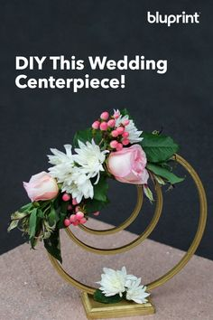 DIY This Wedding Centerpiece: When it comes to DIY wedding crafts, it needs to not only be budget friendly but also needs to come together quickly and look elegant and well done. This centerpiece is all of those things! And it's completely customizable. Wedding Crafts, Diy Wedding, Wedding Flowers, Elegant Centerpieces, Wedding Table Centerpieces, Flower Decorations, Wedding Decorations, Centerpiece Flowers, Cute Wedding Ideas