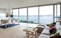 Modern Floor to Ceiling Windows
