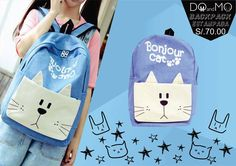 Lleva tus cosas de una forma mas divertida!!! ∠( ᐛ 」∠)_ ∠( ᐛ 」∠)_ ∠( ᐛ 」∠)_ #DOandMO #cute #anime #otaku #animestore #kawaii #neko #usagi #rabbit #cat #gato #conejo #purse #gamarra #centrodelima #barriochino #DOandMOstore #backpack #mochila #handbag #backtoschool #cutestuff #pocketbook