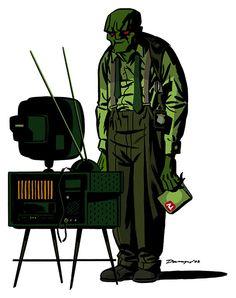 El Detective Marciano por Darwyn Cooke