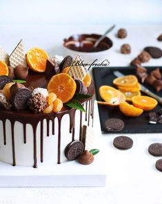 Украшение тортов кремом,шоколадом, фруктами - Кондитерская - сообщество на Babyblog.ru