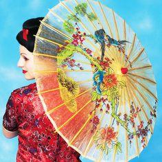 Asian parasol handels