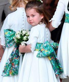 Princess Charlotte Elizabeth Diana of Cambridge Royal Princess, Prince And Princess, Little Princess, Princesa Charlotte, Royal Brides, Royal Weddings, Lady Diana, Looks Kate Middleton, Eugenie Wedding