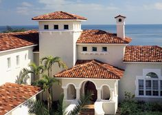 House colors tile and roof colors on pinterest for Spanish style roof shingles