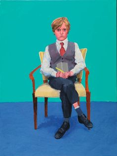 A brush with genius: Barry Humphries on sitting for David Hockney RA | Blog | Royal Academy of Arts