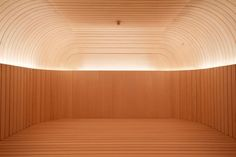 High-style sauna at the Akasha Spa by David Chipperfield, Hotel Cafe Royal, London | Remodelista