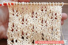 Receita do Ponto Borboletas Abertas Knitting Stiches, Knitting Patterns, Sewing Tutorials, Sewing Hacks, Blog By Day, Spring Summer Fashion, Stitch Patterns, Weaving, Crafty