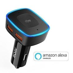 Roav VIVA, by Anker, Alexa-Enabled 2-Port USB Car Charger for In-Car Navigation, Hands-Free Calling and Music Streaming (Spotify Available Soon). iPhone Users: Update to the latest iOS (11.2.6). #Roav #VIVA, #Anker, #Alexa #Enabled #Port #Charger #Navigation, #Hands #Free #Calling #Music #Streaming #(Spotify #Available #Soon). #iPhone #Users: #Update #latest #(..).