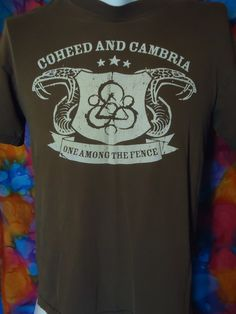 Coheed And Cambria - One Among The Fence - T-shirt - Brown - M