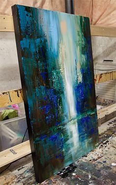 Belle peinture abstraite