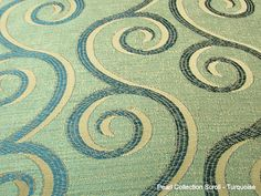 Custom Turquoise Curtains in coordinating Fabrics - Drapery Panels in any size