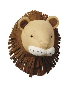 Mounted Lion - Baby Toys   Serena and Lily