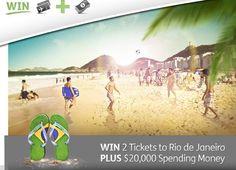 Win a Trip to Rio de Janerio + $20,000