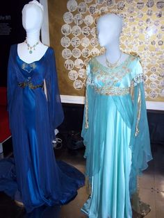 Morgana and Vivianne's dresses