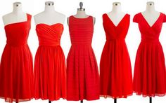 These are nice, we can all have a different style with the same color!