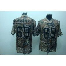 cec228287 Vikings  69 Jared Allen Camouflage Realtree Stitched NFL Jersey